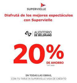 Ofertas de Banco Supervielle  en el folleto de Luján (San Luis)