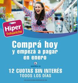 Cupón Hipertehuelche ( Publicado hoy )