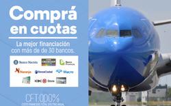 Ofertas de Viajes  en el folleto de Aerolineas Argentinas en Capitán Bermúdez