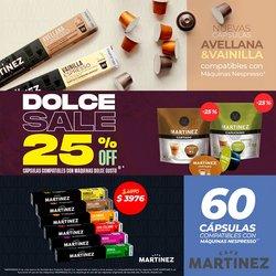 Ofertas de Restaurantes en el catálogo de Café Martinez ( 10 días más)