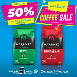 Cupón Café Martinez en La Plata ( Caduca hoy )