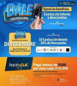 Ofertas de Banco Tierra del Fuego en el catálogo de Banco Tierra del Fuego ( Vence hoy)