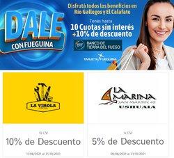 Ofertas de Banco Tierra del Fuego en el catálogo de Banco Tierra del Fuego ( 6 días más)