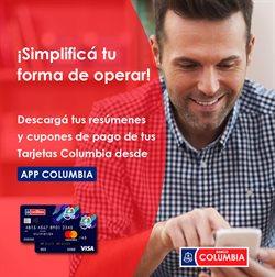 Catálogo Banco Columbia ( Vencido)