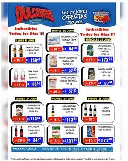 Ofertas de Hiper-Supermercados en el catálogo de Dulcenter ( Publicado ayer)