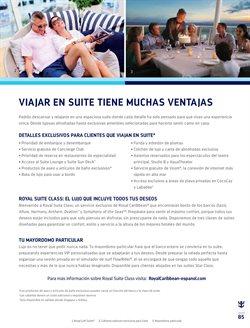 Ofertas de Hoteles  en el folleto de Cruceros Organfur en Buenos Aires