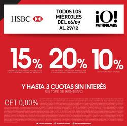 Ofertas de HSBC  en el folleto de Buenos Aires