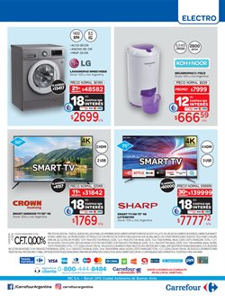 Ofertas de Smart tv en Carrefour