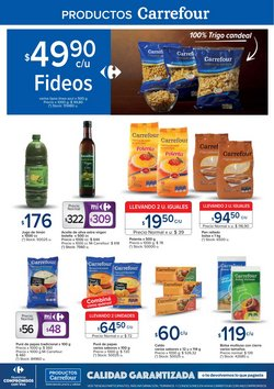 Ofertas de Fideos en Carrefour