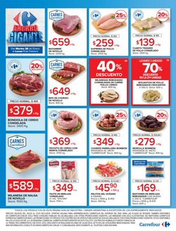 Ofertas de Pollo en Carrefour