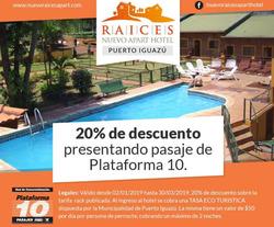 Ofertas de Viajes  en el folleto de Plataforma 10 en Vicente López