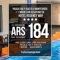 Ofertas de Colonia Express  en el folleto de Córdoba
