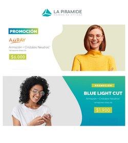 Ofertas de Farmacias y Ópticas en el catálogo de La Piramide ( Vence mañana)