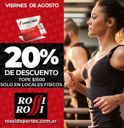 Cupón Rossi Deportes en Ramos Mejía ( 3 días publicado )