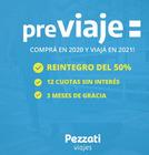 Cupón Pezzati Viajes en Castelar ( 2 días más )