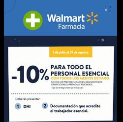 Cupón Walmart Autocenter en Buenos Aires ( 19 días más )