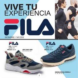 Ofertas de Deporte en el catálogo de Fila ( 7 días más)
