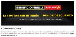 Ofertas de Pirelli  en el folleto de Gualeguay