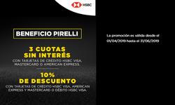Cupón Pirelli en Buenos Aires ( 2 días publicado )