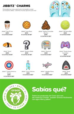 Ofertas de Pizza en Crocs
