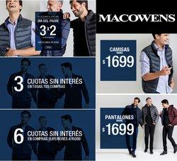 Ofertas de Ropa, Zapatos y Accesorios en el catálogo de Macowens ( Vence mañana)