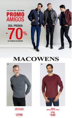 Catálogo Macowens ( Vence hoy)