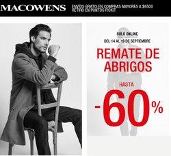 Ofertas de Macowens en el catálogo de Macowens ( 29 días más)
