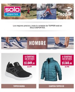 Ofertas de Deporte en el catálogo de Solo Deporte ( Vence hoy)