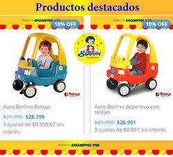Ofertas de Juguetes, Niños y Bebés en el catálogo de Gulliver ( 15 días más)