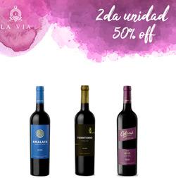 Ofertas de Vinoteca La Vía  en el folleto de Bahía Blanca
