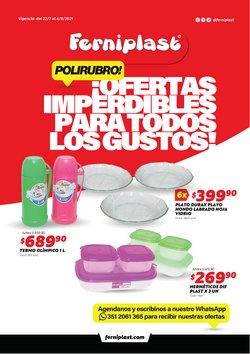 Ofertas de Hiper-Supermercados en el catálogo de Ferniplast ( Publicado ayer)