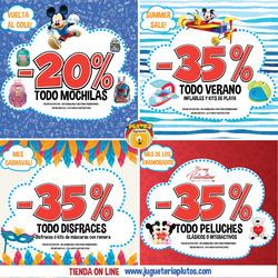 Ofertas de Juguetes y bebes  en el folleto de Jugueteria Pluto's en Cosquín