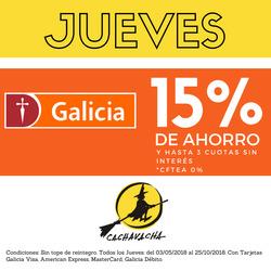 Ofertas de Cachavacha  en el folleto de Córdoba