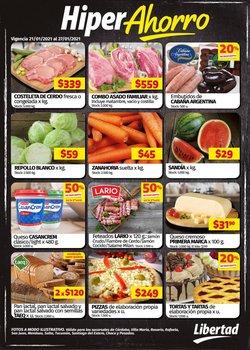 Ofertas de Hiper-Supermercados en el catálogo de Hipermercado Libertad en San Miguel de Tucumán ( 2 días más )