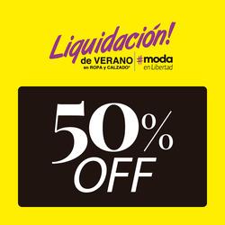 Ofertas de Liquidaciones  en el folleto de Supermercados Libertad en Cosquín