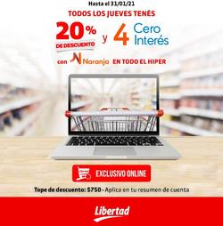 Cupón Hipermercado Libertad en San Juan (San Juan) ( Publicado hoy )
