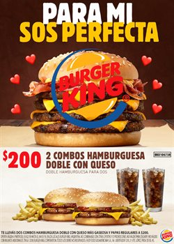 Ofertas de Restaurantes  en el folleto de Burger King en Salta