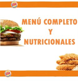 Ofertas de Restaurantes  en el folleto de Burger King en Wilde