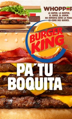 Ofertas de Restaurantes  en el folleto de Burger King en Remedios de Escalada