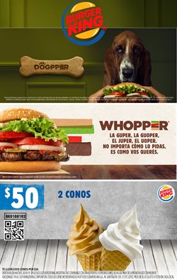 Ofertas de Restaurantes  en el folleto de Burger King en Luis Guillón