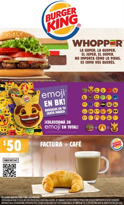 Ofertas de Restaurantes  en el folleto de Burger King en General Rodríguez