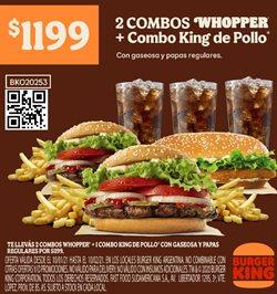 Catálogo Burger King ( 22 días más )
