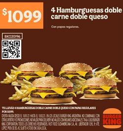Ofertas de Restaurantes en el catálogo de Burger King ( 22 días más )