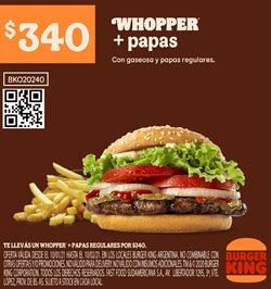 Ofertas de Lancôme en Burger King