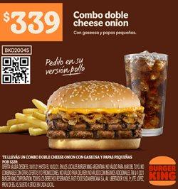 Ofertas de Pollo en Burger King