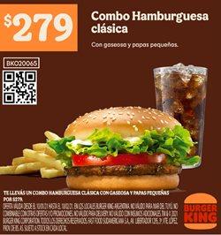 Ofertas de Hamburguesas en Burger King