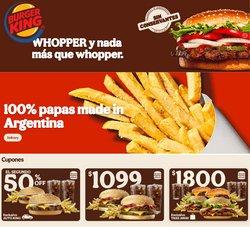 Catálogo Burger King ( 14 días más)