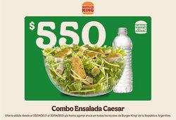 Ofertas de Restaurantes en el catálogo de Burger King ( Publicado hoy)