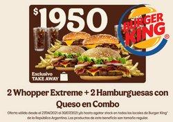 Catálogo Burger King ( 5 días más)