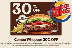 Catálogo Burger King ( Más de un mes)